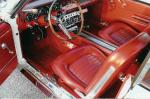 1966 FORD MUSTANG GT CONVERTIBLE - Interior - 24453