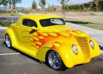 1937 FORD COUPE - Front 3/4 - 24510
