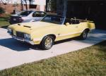 1970 OLDSMOBILE 442 CONVERTIBLE - Front 3/4 - 39675