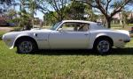 1973 PONTIAC TRANS AM COUPE - Side Profile - 39810