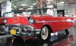 1957 CHEVROLET BEL AIR CONVERTIBLE - Front 3/4 - 39833
