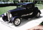 1932 FORD 5 WINDOW CUSTOM COUPE - Front 3/4 - 39868