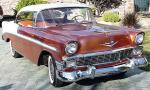 1956 CHEVROLET BEL AIR 2 DOOR HARDTOP - Front 3/4 - 40051