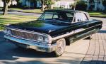 1964 FORD GALAXIE 500 CONVERTIBLE - Front 3/4 - 40228