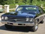 1969 CHEVROLET CHEVELLE SS 396 COUPE - Front 3/4 - 43309