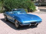 1965 CHEVROLET CORVETTE 327 CONVERTIBLE - Front 3/4 - 43345