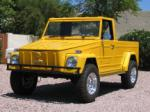 1973 VOLKSWAGEN THING PICKUP - Front 3/4 - 43364