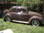 1951 VOLKSWAGEN SPLIT WINDOW 2 DOOR SEDAN - Side Profile - 43367