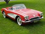 1958 CHEVROLET CORVETTE CONVERTIBLE - Front 3/4 - 43591