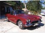 1962 CHEVROLET CORVETTE 327/360 CONVERTIBLE - Front 3/4 - 43593