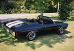 1970 CHEVROLET CHEVELLE SS CONVERTIBLE - Rear 3/4 - 43780