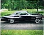 1966 CHEVROLET IMPALA SS CONVERTIBLE - Front 3/4 - 43781