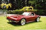 1966 CHEVROLET CORVETTE 454 CUSTOM COUPE - Front 3/4 - 43784