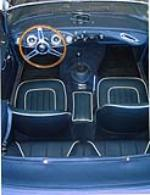 1963 AUSTIN-HEALEY 3000 MARK II CONVERTIBLE - Interior - 43790