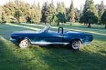 1966 SHELBY GT350 CONVERTIBLE - Side Profile - 43814