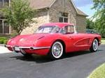 1959 CHEVROLET CORVETTE CONVERTIBLE - Rear 3/4 - 43833