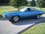 1971 PLYMOUTH HEMI ROAD RUNNER 2 DOOR HARDTOP - Side Profile - 43890