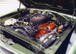 1969 PLYMOUTH GTX 2 DOOR HARDTOP - Engine - 44109