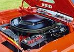 1971 PLYMOUTH HEMI CUDA 2 DOOR HARDTOP - Engine - 44126