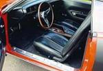 1971 PLYMOUTH HEMI CUDA 2 DOOR HARDTOP - Interior - 44126