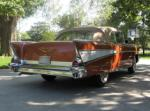 1957 CHEVROLET BEL AIR CONVERTIBLE - Rear 3/4 - 44149