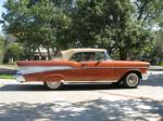 1957 CHEVROLET BEL AIR CONVERTIBLE - Side Profile - 44149