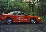 1994 FORD MUSTANG COBRA INDY PACE CAR CONVERTIBLE - Side Profile - 44341