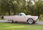 1957 FORD THUNDERBIRD CONVERTIBLE - Side Profile - 44658