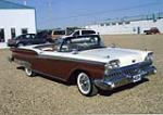 1959 FORD SKYLINER RETRACTABLE - Front 3/4 - 44684