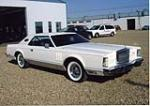 1979 LINCOLN CONTINENTAL MARK V 2 DOOR HARDTOP - Front 3/4 - 44685
