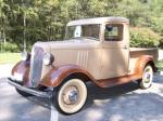 1934 CHEVROLET SHORT BED PICKUP - Front 3/4 - 44834