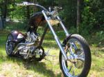 2006 RAGING IRON HKR CUSTOM CHOPPER - Front 3/4 - 44856