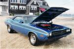 1971 DODGE CHALLENGER R/T COUPE - Front 3/4 - 45053