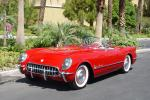 1955 CHEVROLET CORVETTE CONVERTIBLE - Front 3/4 - 45399