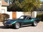 1971 CHEVROLET CORVETTE CONVERTIBLE - Side Profile - 49148