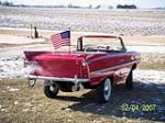 1966 AMPHICAR 770 CONVERTIBLE - Rear 3/4 - 49267
