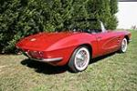 1961 CHEVROLET CORVETTE CONVERTIBLE - Rear 3/4 - 49378