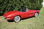1961 CHEVROLET CORVETTE CONVERTIBLE - Side Profile - 49378