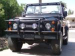 1995 LAND ROVER DEFENDER 90 2 DOOR CONVERTIBLE - Front 3/4 - 49439