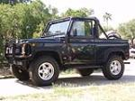 1995 LAND ROVER DEFENDER 90 2 DOOR CONVERTIBLE - Side Profile - 49439