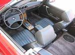 1982 MERCEDES-BENZ 380SL CONVERTIBLE - Interior - 49454
