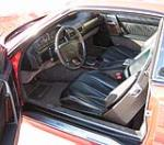 1991 MERCEDES-BENZ 300SL CONVERTIBLE - Interior - 49455