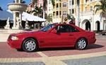 1991 MERCEDES-BENZ 300SL CONVERTIBLE - Side Profile - 49455