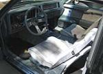 1986 BUICK REGAL T-TYPE COUPE - Interior - 49457
