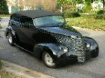 "1939 CHEVROLET CUSTOM 2 DOOR SEDAN ""ELLIOT"" - Front 3/4 - 49480"
