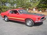 1969 FORD MUSTANG MACH 1 FASTBACK - Side Profile - 49553