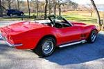1969 CHEVROLET CORVETTE CONVERTIBLE - Front 3/4 - 49555