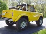 1966 FORD BRONCO PICKUP - Rear 3/4 - 49562