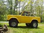 1966 FORD BRONCO PICKUP - Side Profile - 49562