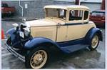 1930 FORD MODEL A COUPE - Front 3/4 - 49594